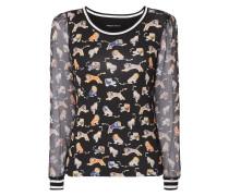 Shirt mit Raubkatzenmuster