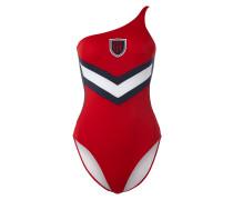 Badeanzug mit One Shoulder Träger