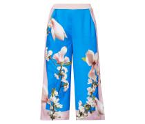 Culotte mit floralem Muster