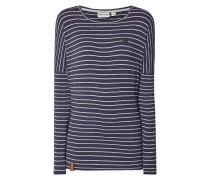 Shirt 'PALLAVERPRINZESS' mit Streifenmuster