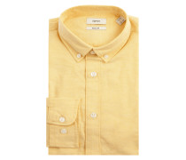 Regular Fit Freizeithemd mit Organic Cotton