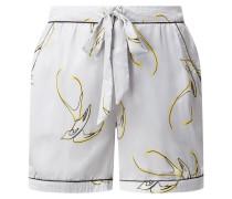 Pyjamashorts aus Satin Modell 'Simone'