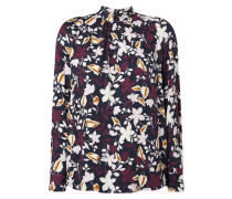Blusenshirt aus Viskose mit Raglanärmeln