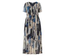 PLUS SIZE Kleid aus recyceltem Polyester Modell 'Fana'