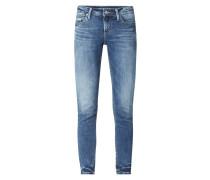 Skinny Fit Jeans mit Stretch-Anteil Modell 'Suki'