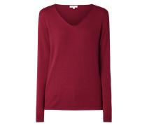 Pullover aus Baumwoll-Viskose-Mix