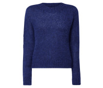 Boxy Fit Pullover aus Mohairmischung