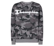 Oversize Fit Sweatshirt mit Camouflage-Muster