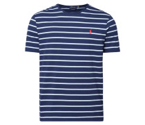 Custom Slim Fit T-Shirt mit Allover-Muster
