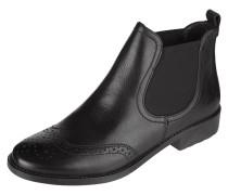Chelsea Boots aus Leder mit Lyralochung