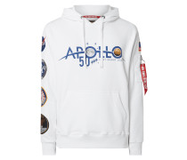 Hoodie mit Apollo-Patches