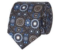 Krawatte aus Seide mit ornamentalem Muster