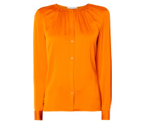 Bluse aus Seide-Elasthan-Mix