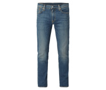 Old Blue Washed Slim Fit Jeans