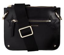 Crossbody Bag aus Leder mit Nieten