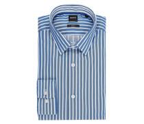 Slim Fit Freizeithemd mit New-Kent-Kragen