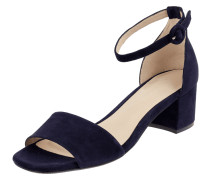 Sandalette aus Veloursleder Modell 'Faro'