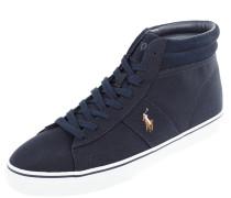 High Top Sneaker aus Textil mit Logo-Stickerei