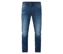 Straight Tapered Fit Jeans mit Stretch-Anteil