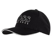 Basecap mit Logo-Stickerei Modell 'Cap US'