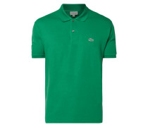 Classic Fit Poloshirt mit Logo-Aufnäher