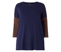PLUS SIZE - Pullover im zweifarbigen Design