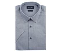 Modern Fit Business-Hemd mit New-Kent-Kragen