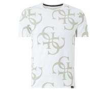 Slim Fit T-Shirt mit Logo-Print
