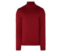 Pullover aus Schurwolle mit Turtleneck