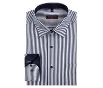 Modern Fit Business-Hemd mit Streifenmuster