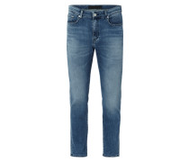 Double Stone Washed Prime Fit Jeans