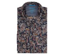 Modern Fit Freizeithemd aus Baumwolle mit Paisley-Dessin
