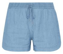 Jeansshorts mit elastischem Bund