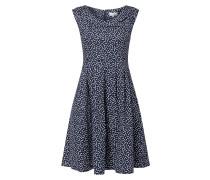 Kleid mit umgelegtem Kragen