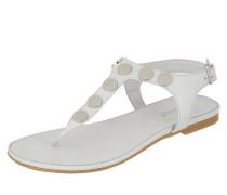 Sandalen aus Leder mit Nieten