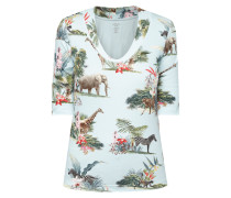 Shirt mit Safari-Muster