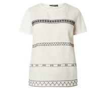 Blusenshirt mit Vorderseite aus Leinen Modell 'Ori'