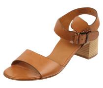 Sandalette aus echtem Leder