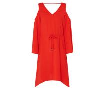Cold Shoulder Kleid mit Tunnelzug