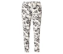 Sweatpants mit floralem Muster