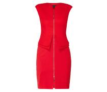 Kleid mit durchgehendem Zweiwege-Reißverschluss