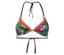 Bikini-Oberteil mit exotischem Muster