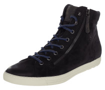 High Top Sneaker aus Veloursleder