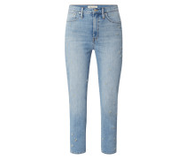 Straight Fit Jeans mit Stretch-Anteil Modell 'Daisy'