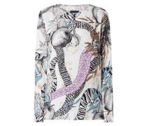 Blusenshirt aus Krepp Modell 'Elodie'