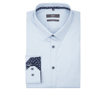 Super Slim Fit Business-Hemd aus Twill