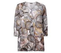 PLUS SIZE - Blusenshirt mit abstraktem Muster