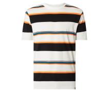 T-Shirt mit Streifenmuster Modell 'Sunder'