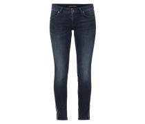 Stone Wasched Jeans mit Zierpaspeln