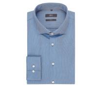 Slim Fit Business-Hemd aus Panama